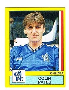 No.58 Colin Pates of Chelsea - Footbal 87 - Panini - English & Scottish Leagues