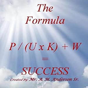 The Formula P / (U x K) + W = Success, Volume 1 Audiobook