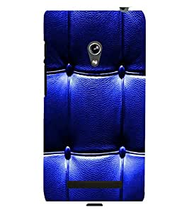printtech Leather Pattern Back Case Cover for Asus Zenfone 5::Asus Zenfone 5 A500CG