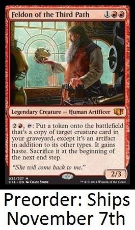 Commander 2014 - Red Deck With Planeswalker Commander - Magic The Gathering (Mtg) Pre-Order Ships November 7Th front-521845