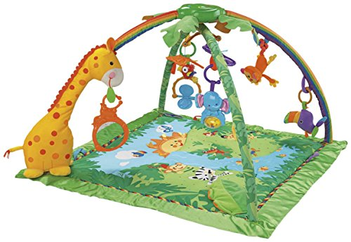Fisher-Price Rainforest Melodies and Lights Deluxe Gym (Fisher Price Rainforest Mobile compare prices)