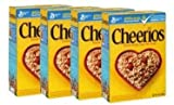 General Mills Cheerios Cereal, 14 oz (Pack of 4)