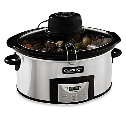 Crock-pot SCCPVC600AS-P 6-Quart Digital Slow Cooker with iStir Automatic Stirring System System Is Sure to Be a Favorite for Any Kitchen (Programmed Crock Pot compare prices)