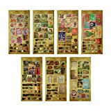 Seasonal Salvage Stickers by Tim Holtz Idea-ology, 138 Stickers, Paper, Multicolored, TH92868