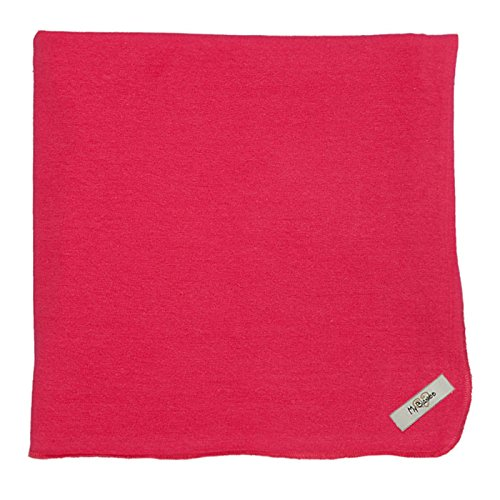 "My Blankee Organic Cotton  Jersey Knit Swaddle Baby Blanket, 47"" X 47"", Raspberry"