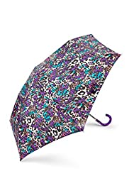 Blurred Leopard Print Umbrella with Stormwear™ [T01-0991P-S]
