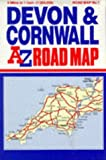 img - for A-Z Devon and Cornwall Road Map: Devon and Cornwall book / textbook / text book