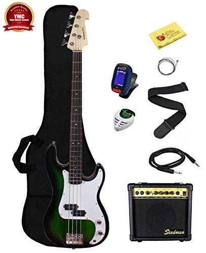 Stedman Beginner Series Bass Guitar Bundle