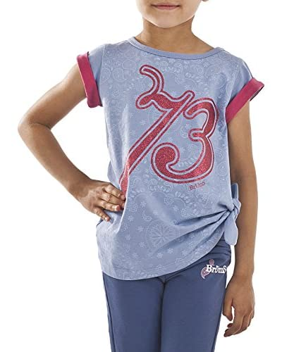 Brums T-Shirt Manica Corta [Azzurro]