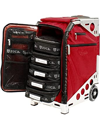 Zuca Pro Road Warrior Luggage Pro Artist Collection: Ruby Red Sport