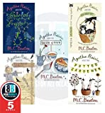 M.C. Beaton M.C. Beaton Agatha Raisin Collection 5 Books Set, (Agatha Raisin and the Fairies of Fryfam, Agatha Raisin and the Walkers of Dembley, Agatha Raisin and the Quiche of Death, Agatha Raisin and the Vicious Vet and Agatha Raisin and the Potted Ga