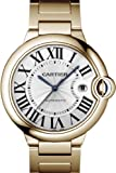 CARTIER Watches:NEW CARTIER BALLON BLEU MENS GOLD WATCH W69006Z2