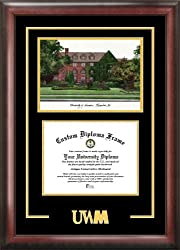 University of Wisconsin , Milwaukee Spirit Graduate Frame with Campus Image