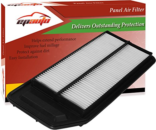 EPAuto GP564 (CA9564) Honda / Acura Replacement Extra Guard Rigid Panel Engine Air Filter for Accord (2003-2007), TSX (2004-2008), Replace with Cabin Air Filter CP134 (CF10134)