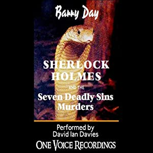 Sherlock Holmes and the Seven Deadly Sins Murders Audiobook