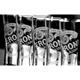 6 PERONI Half PINT GLASSES BRAND NEW