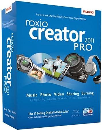 Roxio Creator 2011 Pro [Old Version]