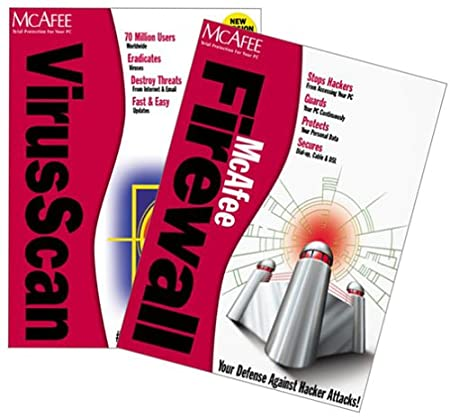 McAfee Virusscan/Firewall Bundle