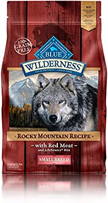 buy Blue Buffalo Wilderness Adult Rocky Mountain Recipes Red Meat Small Breed - Grain Free