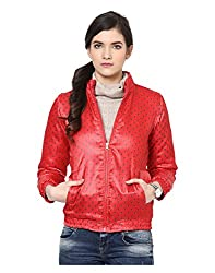 Yepme Women's Red Polyester Jackets - YPMJACKT5173_L