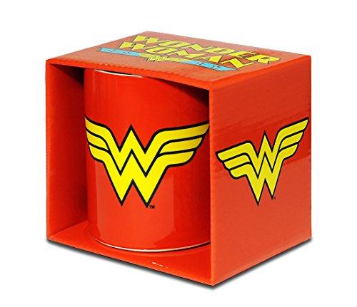 Wonder Woman Tazza da caffè - DC Comics Tazza di porcellana - Stampa a colori - design originale concesso su licenza - LOGOSHIRT