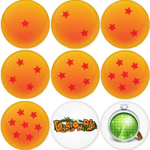 DRAGON BALL round badges 1.75