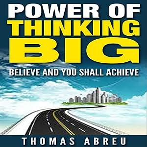 Power of Thinking Big Audiobook