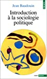 echange, troc Baudoui - Introduction à la sociologie politique