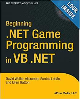 Beginning .NET Game Programming in VB.NET (Repost)