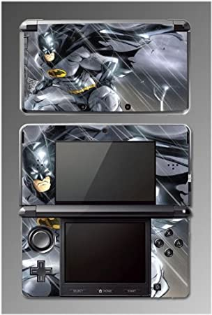 Batman Dark Knight Begins Rises Cartoon Video Game Vinyl Decal Cover Skin Protector Mod Kit 4 for Nintendo 3DS