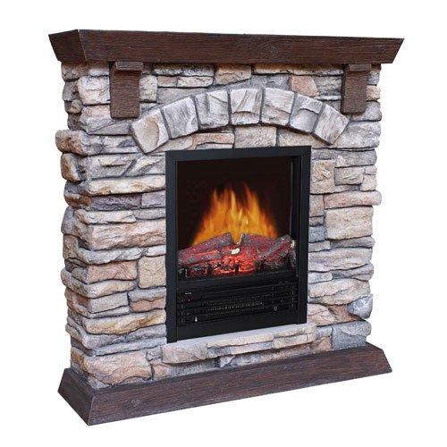 Sale Flametec 750w 1500w Electric Fireplaces Heater Qcm