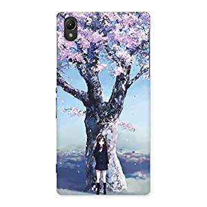 Gorgeous Premier Cherry Blossom Multicolor Back Case Cover for Sony Xperia Z1