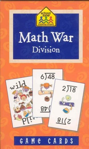 Math War: Division : Game Cards