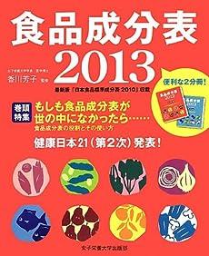 食品成分表〈2013〉