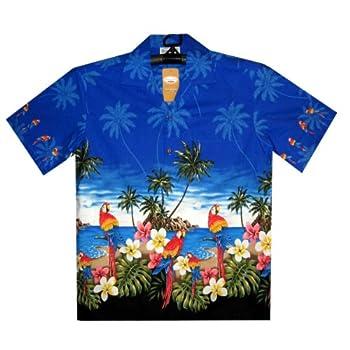 Authentique a l Taille Chemise Originale Pas Hawaienne Cher P UfwzRz