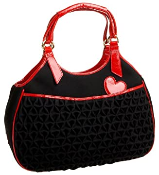 Love Moschino Felpa and Vernice Shoulder Bag