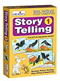 With the help of 2 Sets of 6 step large, sturdy Picture Cards the child will be able to describe each card of the story in simple words, establish spatial relationship between them, arrange them into proper sequence and narrate the story in his/ her ...
