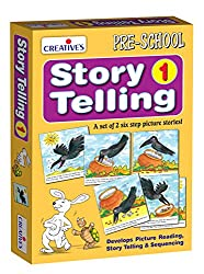 Creative Educational Aids 0612 Story Telling Step-by-Step - 1 (6 Steps)