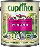 New 2014 Cuprinol Garden Shades Sweet Sundae 1L