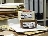 Tesa Pack - Cinta de embalaje fuerte (polipropileno acrílico silencioso, 66 m x 50 mm) color transparente