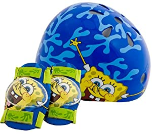 SpongeBob Child Pacific Nickelodeon Hardshell Helmet and Pads