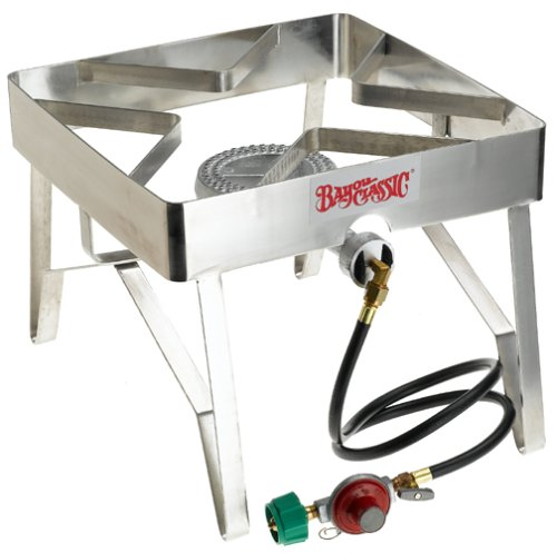 Bayou Classic 1114 Single Burner Square Patio Stove