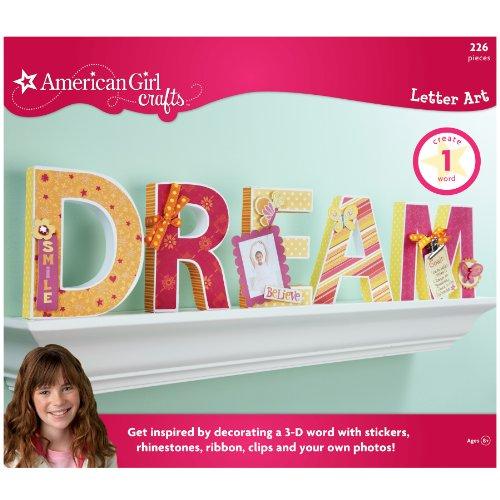 American Girl Crafts Dream Letter Art Kit front-773008