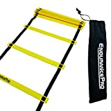 Endurance Pro Agility Ladder For Best Speed and Agility Training Includes Ladder Drills EBook and Carry Bag
