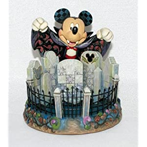 Click to read our review of Halloween Outdoor Lights: Disney Traditions Mickey Candy Dish Figurine