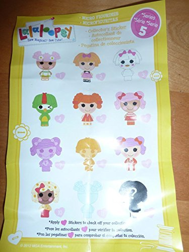 Micro Lalaloopsy Surprise Pack Series 5
