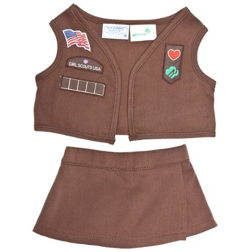 39dcba60e1 Build A Bear Workshop Girl Scout Brownie 2 Piece Uniform By Build A Bear  Price in India