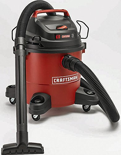 Craftsman 12004 6 Gallon 3 Peak HP Wet/Dry Vac (Craftsman Wet And Dry Vacuum compare prices)