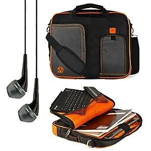 "Vangoddy Citrus Orange Pindar Messenger Bag for Sony Xperia Z2 / RCA Pro10 Editon / LG G Pad / Kobo Arc 10 HD / Nokia Lumia 2520 10.1"" Tablets +  available at Amazon for Rs.5843"