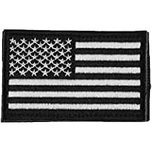Alcoa Prime Hot America Flag 3D Embroidery Double Faced Clothes Epaulette Armband Badge Army Tactical Patches...